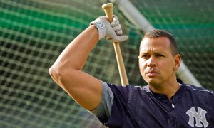 OAKLAND, CA - MAY 20:  Alex Rodriguez #13 of the New York Yankees takes batting practice before a game against the Oakland Athletics at O.co Coliseum on May 20, 2016 in Oakland, California.  A-Rod has been on the disabled list but is expected to return soon.  The Yankees won 8-3.  (Photo by Brian Bahr/Getty Images)