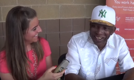 Danielle McCartan interviews New York Yankees alumnus Mickey Rivers