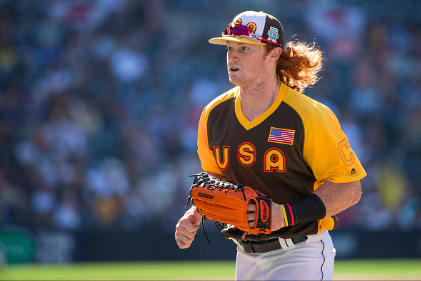 Clint Frazier haircut