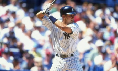 5 Jul 1998:  Infielder Derek Jeter #2 of the New York Yankees in action during a game against the Baltimore Orioles at the Yankee Stadium in the Bronx, New York.  The Yankees defeated the Orioles 1-0. Mandatory Credit: David Seelig  /Allsport