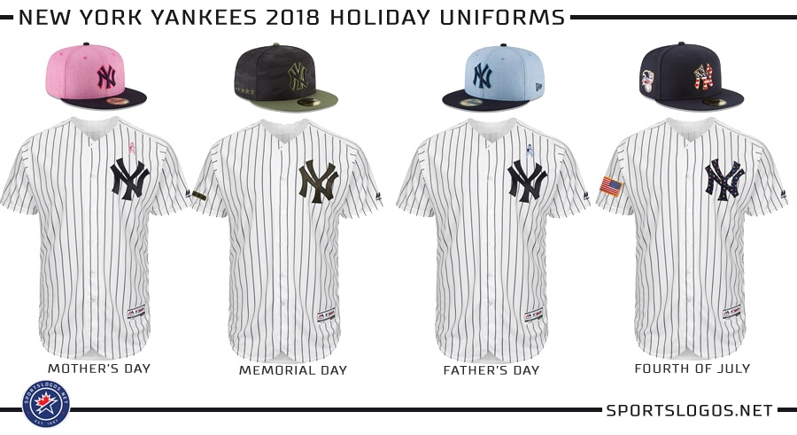 size 40 aae6a 6f932 MLB unveils 2018 holiday uniforms | Bronx Pinstripes ...