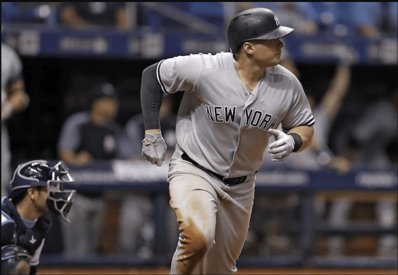 Luke Voit is no stranger to hard-hit balls
