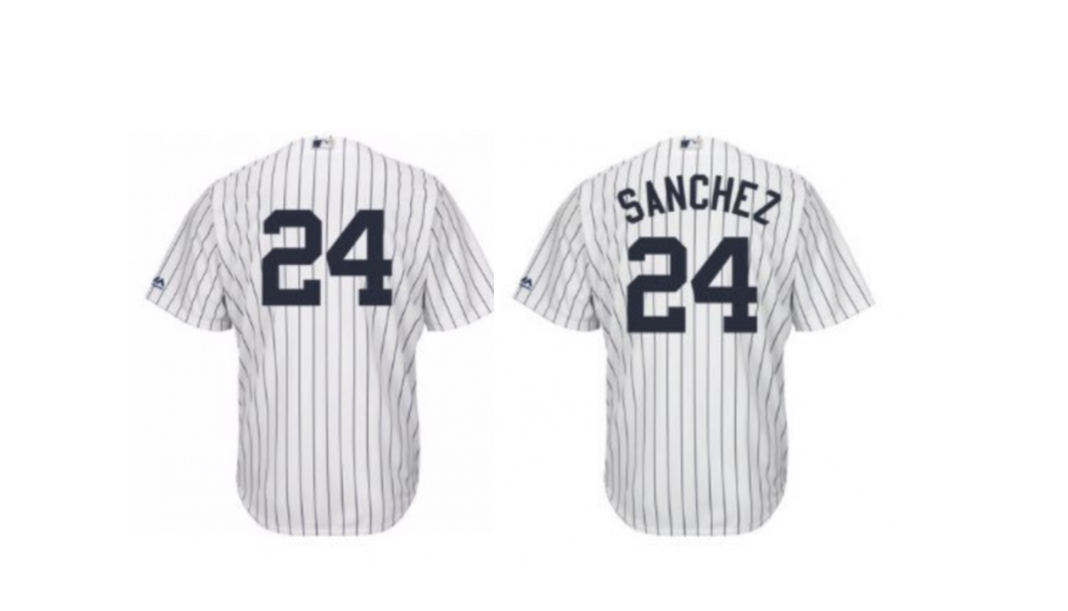 online store 74c8e f5207 Can we talk about Yankees jerseys with names for a minute ...