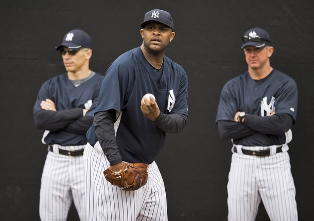 Joe Girardi will rely heavily on C.C. Sabathia an Hiroki Kuroda this season as the Yankees are challenged with establishing the rest of their starting rotation