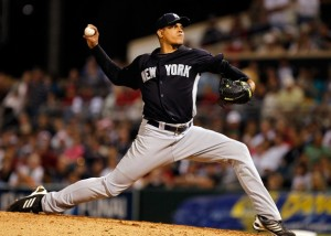 Dellin Betances looked much improved for Scranton/Wilkes-Barre last night (March 13, 2011 - Source: J. Meric/Getty Images North America)