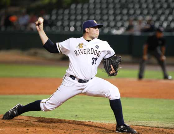 Ryan Flannery turned in a clunker on Thursday for Trenton (Photo Credit: NorthJersey.com)