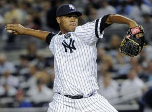 Ivan Nova starts for the Yankees tonight and he'll attempt to end his month of May on a good note