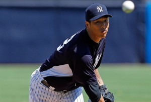 Hiroki Kuroda will start tonight&#039;s game for the Yankees against the Kansas City Royals