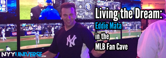 Living the Dream: Eddie Mata in the MLB Fan Cave